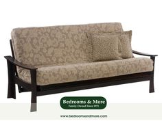 The Fuji Futon evokes Japanese temples and gardens — a bit of samurai as well. Plus it looks good! Suggests an Asian motif that also blends beautifully with Contemporary style. CLICK through the pin to learn more or call us in Seattle at Bedrooms & More: 1-888-297-8844