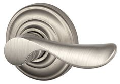 Schlage FA170-CHP-RH Champagne Right Handed Single Dummy Door Lever with Decorat