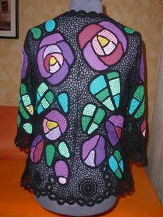 Ручная работа блуза Розы Макинтоша