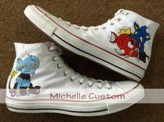 b1403eeaa1ef Design White Shoes Custom Art Hand Painted Shoes Cartoon Shoes C