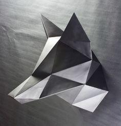 TRIANGULATED: Geometric Animal Busts - Series I on Behance