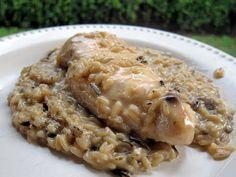 4-Ingredient Slow Cooker Chicken & Rice
