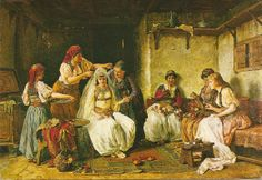 Adornment of a Bride Paja Jovanovic 1859-1957