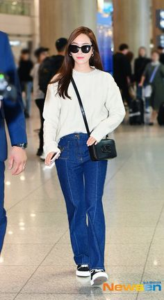 Fashion Tag, Pop Fashion, Daily Fashion, Magazine Cosmopolitan, Instyle Magazine, Airport Style, Airport Fashion, Snsd, Yoona