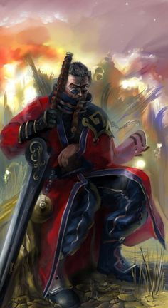 Sir Auron revisited by Abishai.deviantart.com on @deviantART