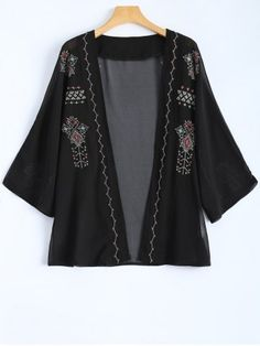 GET $50 NOW | Join RoseGal: Get YOUR $50 NOW!http://www.rosegal.com/jackets/embroidered-vintage-chiffon-jacket-816815.html?seid=1424208rg816815