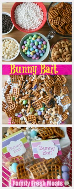 Bunny Bait Easter Treat - FamilyFreshMeals.com