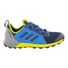 the latest b065e 5437c Men s adidas Terrex Agravic Speed Trail Running Shoe Collegiate Navy Core   Core Running Shoes