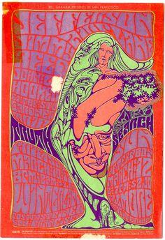 Concert at the Fillmore Auditorium (Jefferson Airplane; Jimmy Reed; John Lee Hooker; Stu Gardner)