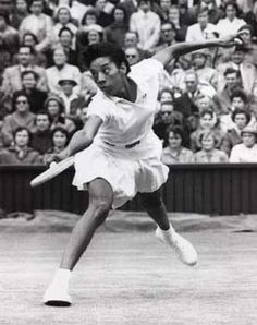 Althea Gibson - Tennis player, she won the singles title at Wimbledon and the US Open twice each, she was the first black champion in both tournaments Women In History, Black History, Althea Gibson, Women In America, Professional Tennis Players, Tennis Stars, Most Beautiful People, African American Women, American History