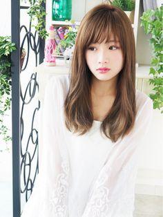 【ヘアジュレドゥ 福田】 Sweet ナチュラルフェミニンセミディ