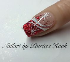 https://www.facebook.com/Nailart-by-Patricia-Haak-779085605532657/ French , white,