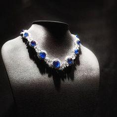 Amazing #harrywinston #necklace #sapphire #bluediamond #jewellery #highjewelry #highjewellery #cute #beautiful #beauty #love #art #finejewelry #followme #mariigem #artwork #handmade #design #designer #inspiration #gemstone #artwork #platinum #whitegold #diamond #gold