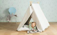 Tee itse helposti toteutettava teltta majaksi lapselle.
