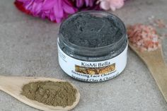 Acne Mask, Face Wash, Face Toner, Wrinkle Cream, Detoxing VEGAN Face Cleanser with Seaweed Clay and Activated Charcoal