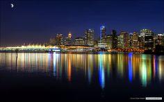 Vancouver's November Skyline by Clayton Perry Photoworks, via Flickr
