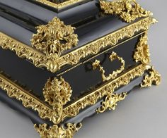 Lot:72: Napoleon III style dore bronze mounted casket, Lot Number:72, Starting Bid:$1500, Auctioneer:Dallas Auction Gallery, Auction:72: Napoleon III style dore bronze mounted casket, Date:02:00 PM PT - Apr 20th, 2011