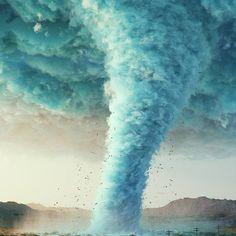 #tornado #cinema #c4d #cinema4d #render #octanerender #photoshop #daily #3d #graphics #graphic #design #abstract #art #surreal #smoke #twister #desert #storm #wind #cloud #realistic #mist
