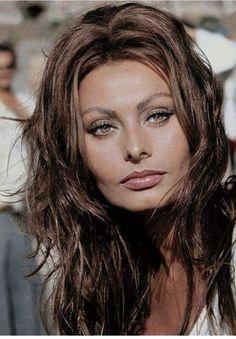 The lovely Sophia Loren.
