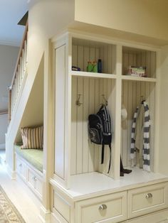 10 Ways To Create Storage Space In Your Home. Cabinet InspirationUnder  Stair StorageUnder Stairs Storage SolutionsHidden SpacesSmall ...