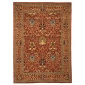 Found it at Wayfair - Davita  Rust Area Rug