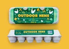 John Family Egg Carton — The Dieline - Branding & Packaging Design Egg Packaging, Honey Packaging, Food Packaging Design, Packaging Design Inspiration, Brand Packaging, Branding Design, Roasting Company, Creativity And Innovation, Innovation News