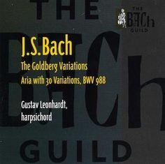 J.S. Bach: The Goldberg Variations, Gustav Leonhardt