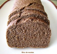 Bloc de recetas: Pan de molde de centeno 100 % integral Pan Bread, Bread Baking, Real Food Recipes, Cake Recipes, Healthy Recipes, Mexican Bread, Chilean Recipes, Bread Machine Recipes, Light Recipes