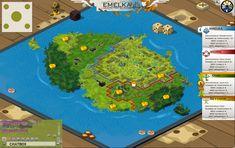 wakfu MMO: UI world map by Sevpoolay on deviantART