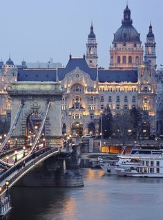 Our ship docked about here in Budapest. We absolutely loved this city and want to go back! (mkc via izabella szuromi)