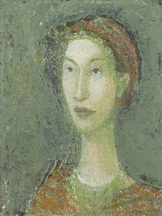 Gennadii Gogoliuk (English: 1960) | Unknown Woman III Oil on canvas 16¼ x 12¼ ins