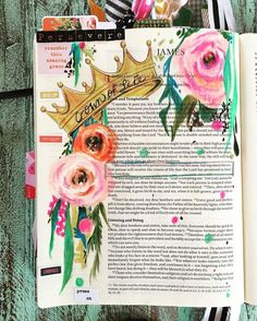Crown of Life #illustratedfaith #biblejournaling #bibleart