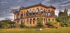 The Ruins at Talisay City, Negros Occidental, Philippines.  I love this place! When the sun goes down, it looks like the building is a beautiful shade of orange.