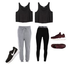 """Untitled #3"" by denier22 on Polyvore featuring Love Moschino, Calvin Klein Underwear, H&M and NIKE"