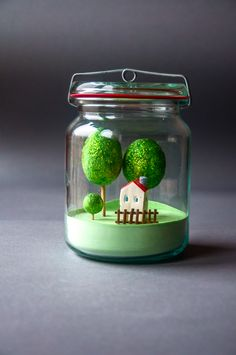 jar, handmade, little home