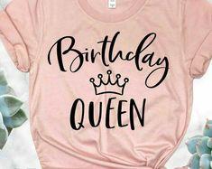 Birthday Girl Shirts Birthday squad Shirt Friend Squad Birthday Party Womens Birthday Shirt Crew Birthday Shirt Birthday Queen Shirt - Birthday Shirts - Ideas of Birthday Shirts - Womens Birthday Shirt, Birthday Squad Shirts, Queen Outfit, Birthday Woman, Shirts For Girls, Girl Shirts, Cool Outfits, Stylish Outfits, Preppy Outfits