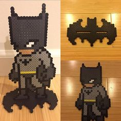 Batman perler beads by christoperler