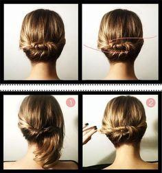 Passo a Passo para penteados de casamento para cabelos médios