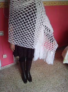 Crochet Top, Tops, Women, Fashion, Shawl, Moda, Women's, Fashion Styles, Woman
