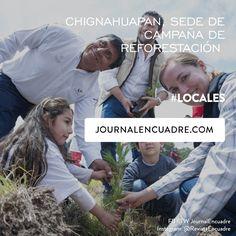 Revista Encuadre » Chignahuapan, sede de campaña de reforestación