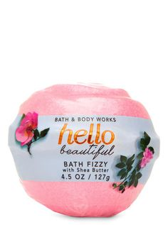 Hello Beautiful Bath Fizzy by Bath & Body Works Bath Fizzies, Bath Salts, Beauty Routine 30s, Bath And Body Works Perfume, Lip Scrub Homemade, Lush Bath, Mascara Tips, Bath And Bodyworks, Hello Beautiful