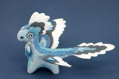 Plush dragon Element Air Made To Order fantasy от UniversesSwirls