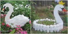 recicla con botellas de plástico!