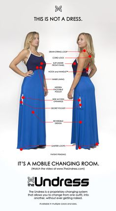 The Undress- Change clothes in public without getting naked! by The Undress, inc. — Kickstarter