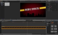 """Free Template pour FCPX : """"Retro Effects""""...."""