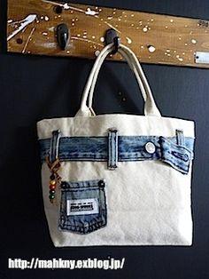 Denim Backpack, Denim Bag, Quilted Bag, Patchwork Bags, Blue Jean Quilts, Blue Jean Purses, Denim Handbags, Denim Crafts, Old Jeans