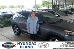 https://flic.kr/p/HVtsyc | Congratulations Sue on your #Hyundai #Tucson from Frank White at Huffines Hyundai Plano! | deliverymaxx.com/DealerReviews.aspx?DealerCode=H057