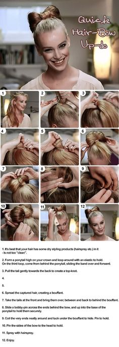 hairstyle tutorial - www.hairbyken.com