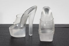 Clear Platform High Heels for Tonner Antoinette / por Topologie, $21,99