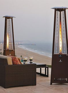 Gorgeous Modern Outdoor Heaters.